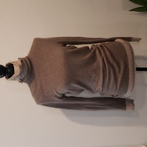 THEORY 100% Cashmere roll turtleneck mixed colours